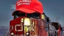 Donald Trump's #TrumpTrain Is