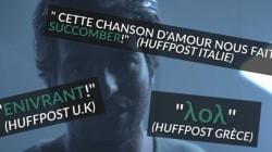 Les éditions européennes du HuffPost jugent notre chanson à