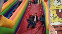 Abducted B.C. Kids Spotted In Bouncy Castle Facebook