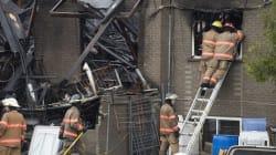 Incendie mortel à Longueuil: la police fouille les