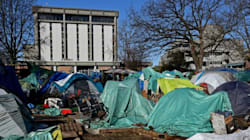 Tent City Outside Victoria Courthouse To Get Running Water,