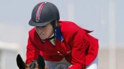 Philippa Humphrey, 33 anni, cade da cavallo e