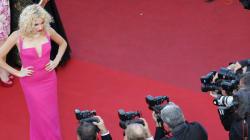 Cannes: le rose à l'honneur sur le tapis rouge