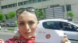 Cette Iranienne a une manière radicale de lutter contre le port du