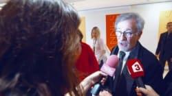 Steven Spielberg présente Le Bon Gros Géant à Cannes
