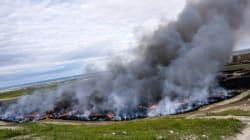 Castilla-La Mancha pidió permiso para retirar los neumáticos de Seseña y se lo