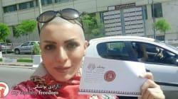 Questa donna iraniana ha trovato un nodo perfetto per lottare contro l'obbligo del