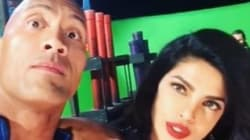 A Sultry Priyanka Chopra 'Gets It On' With Dwayne Johnson In This New 'Baywatch'