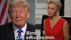 Les excuses gênantes de Donald Trump après une insulte sexiste envers Megyn