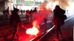 Manif sur les voies et grève, la fin de journée s'annonce difficile à la gare