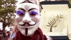 Loin des paillettes, les manifestants anti-loi Travail nous dévoilent leur Palme