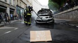 Ce que l'on sait des 5 personnes interpellées après l'incendie d'une voiture de