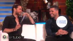 Jared Leto et Drake jouent à