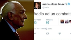 Il mondo politico saluta Pannella. Da Renzi a Salvini, cordoglio