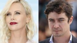 Charlize Theron e Riccardo Scamarcio a Cannes sottobraccio agli
