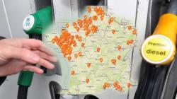 La carte en temps réel des stations-service en pénurie de carburants près de chez
