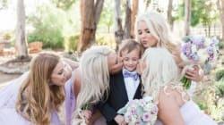Ces enfants ont volé la vedette aux nouveaux mariés