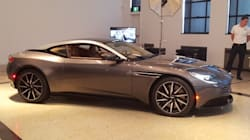 L'Aston Martin DB11 fait sa rentrée montréalaise