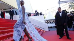 Cannes: le tapis rouge ludique de l'avant-dernier jour