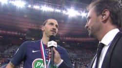 L'interview (gênante) de Zlatan Ibrahimovic après le