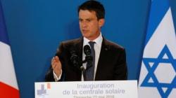 En déplacement en Israël, Valls estime que