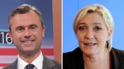 Lagarde met Hitler, Hofer et Marine Le Pen sur le même