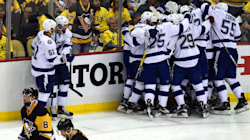 Le Lightning l'emporte face aux Penguins