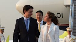 Sophie Gregoire Trudeau Reps 2 Canadian Designers During Japan