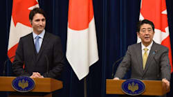 Japan PM Puts Heat On Trudeau Over TPP, South China