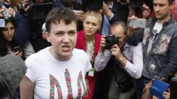 Les premiers mots de la pilote ukrainienne libérée par la