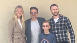 'Avengers' Stars Surprise Teen Battling Second Round Of