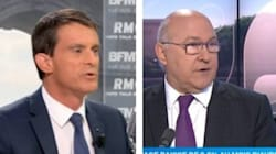 Valls et Sapin, le recadrage le plus rapide de l'histoire des
