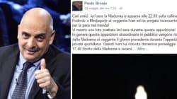 Paolo Brosio vede la Madonna e la posta su Facebook. Ma i social sono