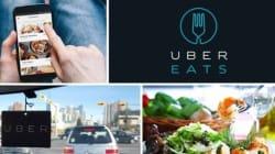 Uber se lance dans la livraison de repas à