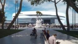 Voici à quoi ressemblera la place Jean-Béliveau (et son imposante oeuvre d'art)