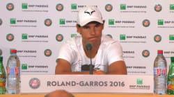 Rafael Nadal forfait pour la suite de