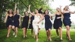 23 fotos de damas de honra que ARRASARAM no dia do