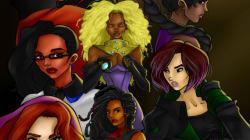 Estas super-heroínas são multiculturais feitas por mulheres e para