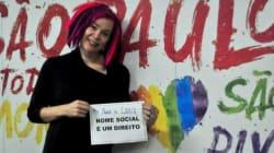 Maravilhosa! Lana Wachowski, criadora de 'Sense8', visita centro LGBT em
