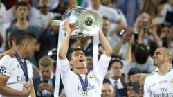 Ligue des Champions: le Real Madrid célèbre sa victoire