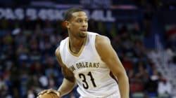Un joueur de la NBA