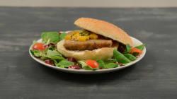 Per preparare l'hamburger vegetariano di melanzane ti basta un