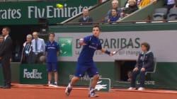 Ce ramasseur de balles se souviendra très longtemps de Roland-Garros