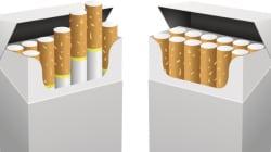 Vers des paquets de cigarettes neutres au