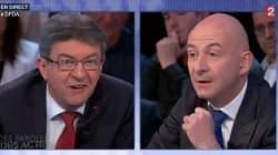 Pourquoi l'échange tendu entre Mélenchon et Lenglet a disparu du replay de France