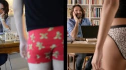 Une parodie de la pub sexiste de DIM souligne son