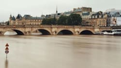 Cette photo résume parfaitement la crue de la Seine à