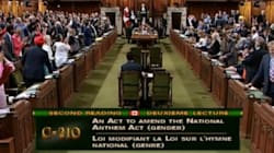 MPs Sing 'O Canada' After Most Vote For Gender-Neutral