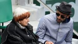 Agnès Varda et JR à Roland-Garros pour