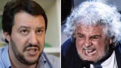 Immaginate Berlusconi, Salvini e Grillo